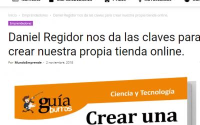 El ultimo trabajo de Daniel Regidor se hace hueco en Mundo Emprende.