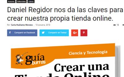 «GuíaBurros Crear una tienda online con WordPress» en Casa de Letras.