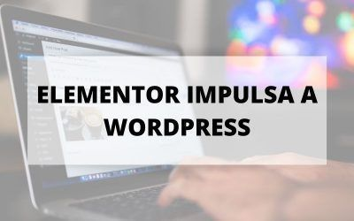 El crecimiento de WordPress se ha visto impulsado por Elementor